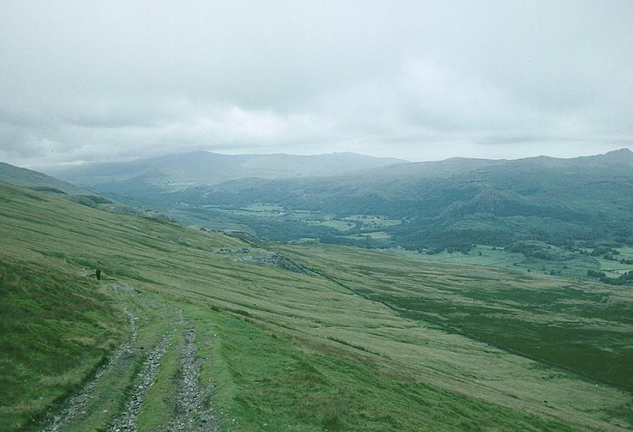 On our descent to the Duddon Valley