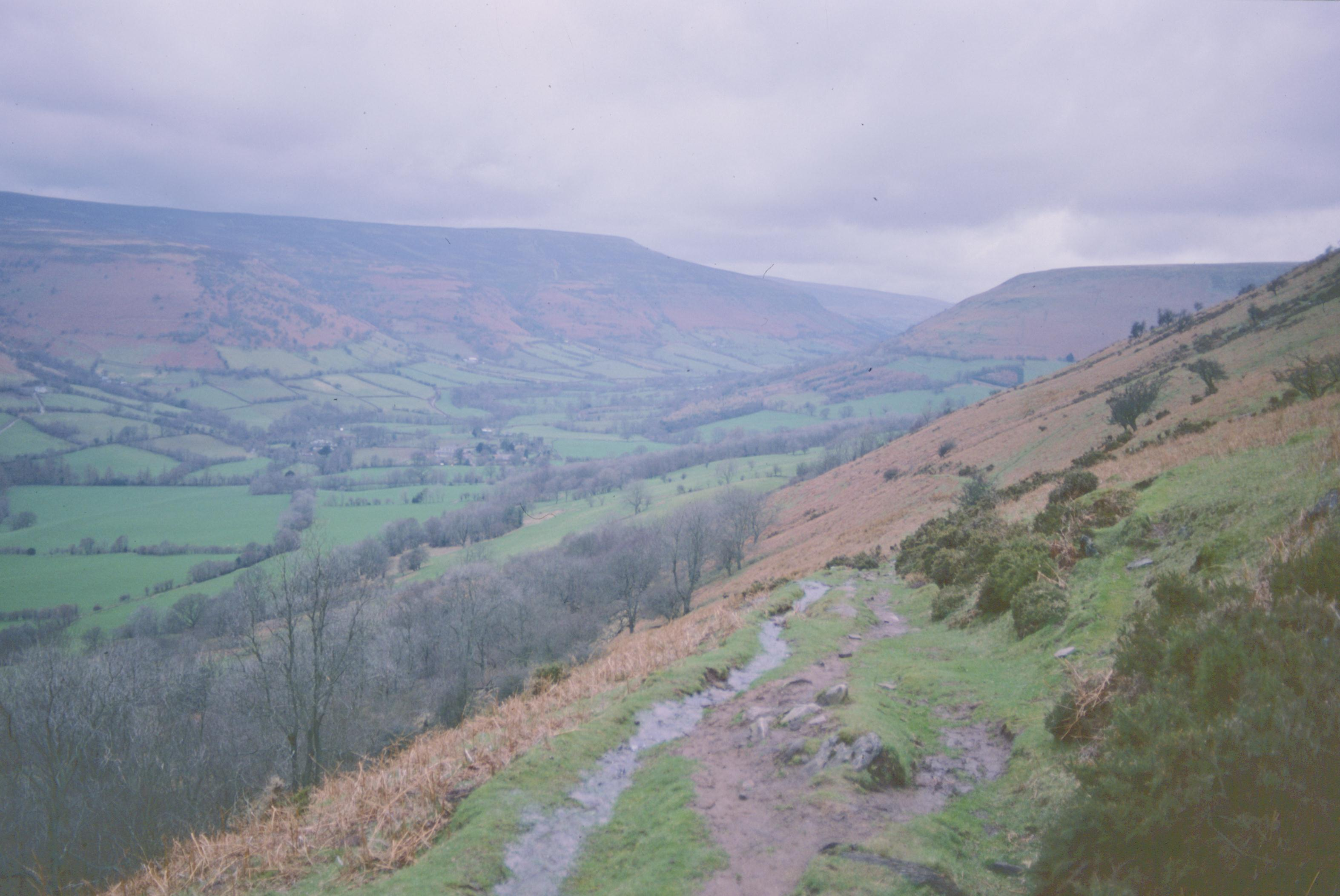 On the descent to Llanthony