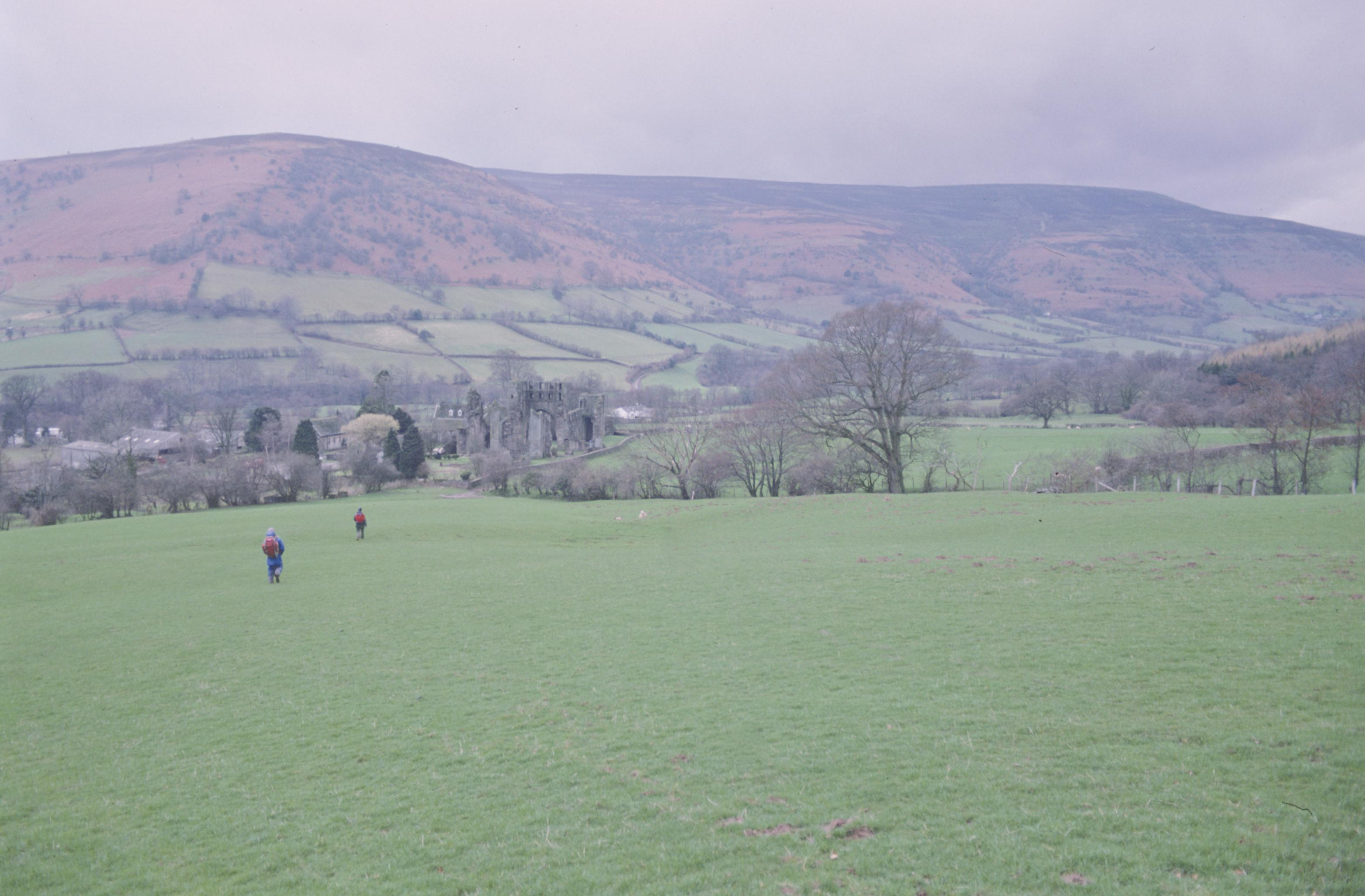 In the Vale of Ewyas – a descent to Llanthony Abbey