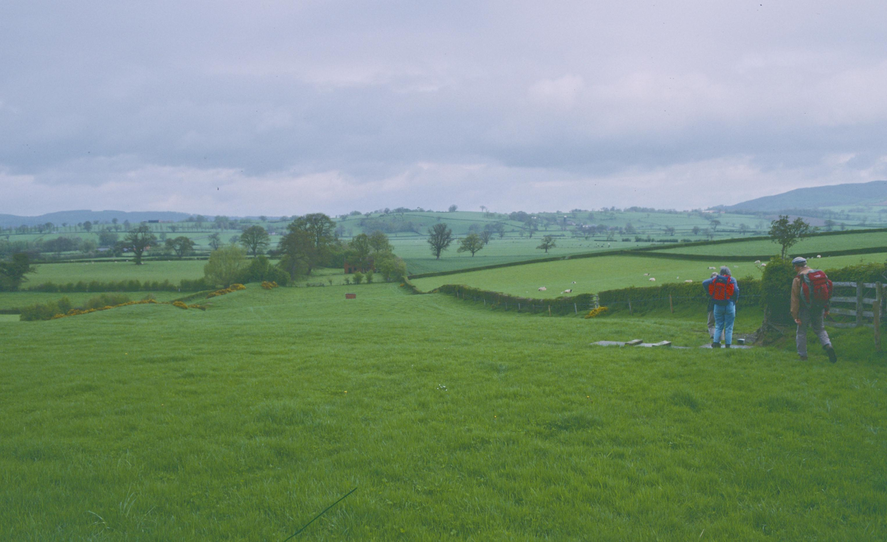 Nearing Rownal Cottages