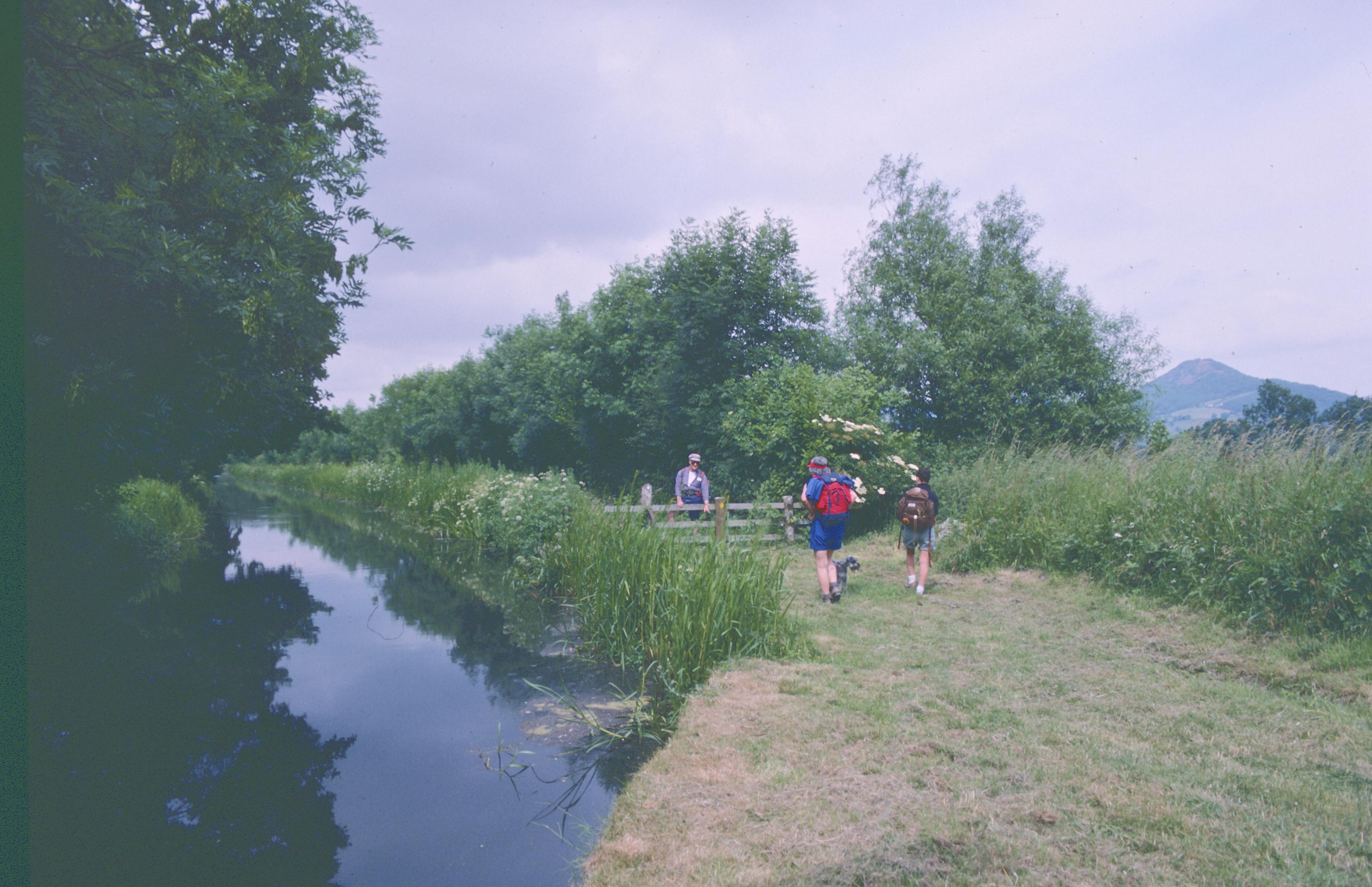 Along the Montgomery Canal
