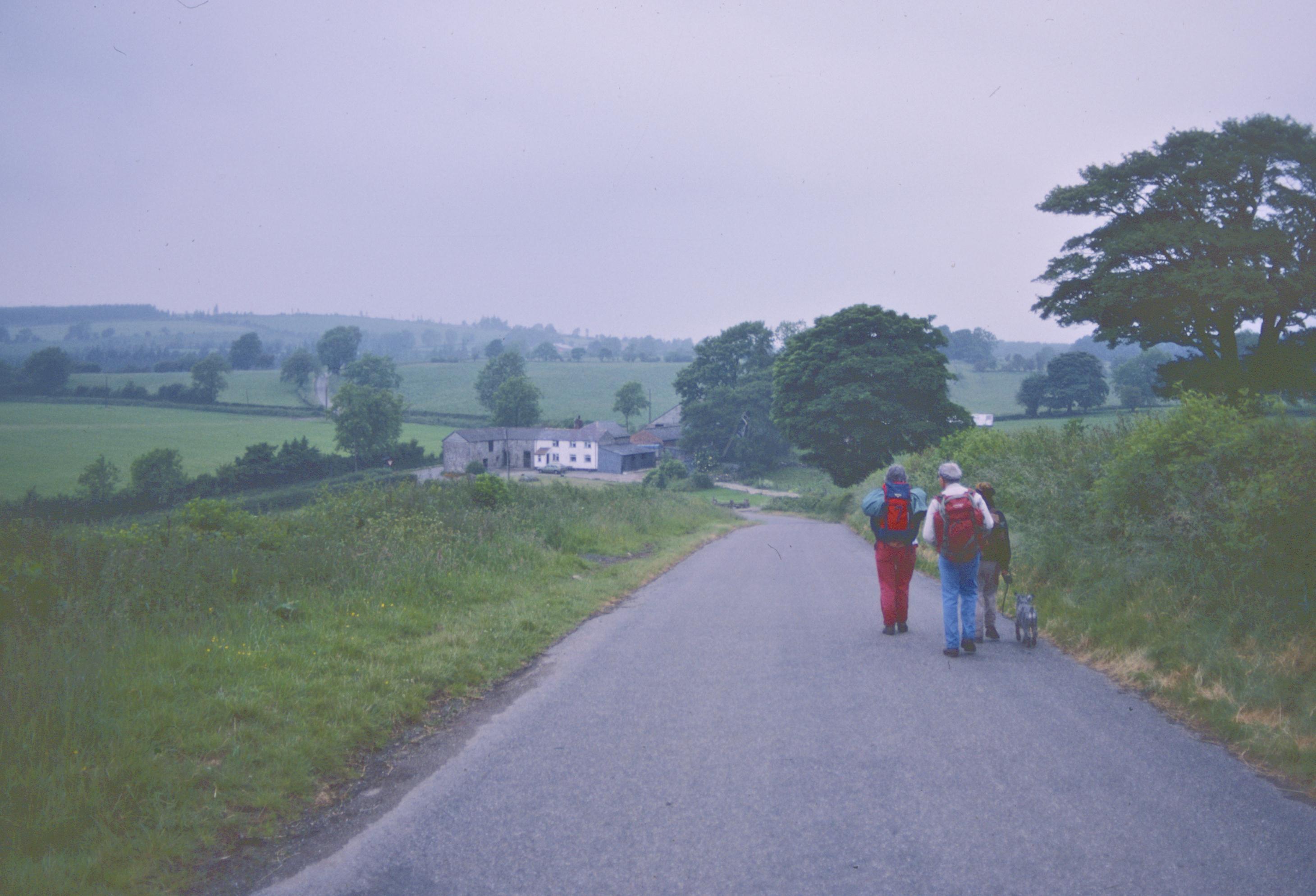 The road to Carreg-y-big
