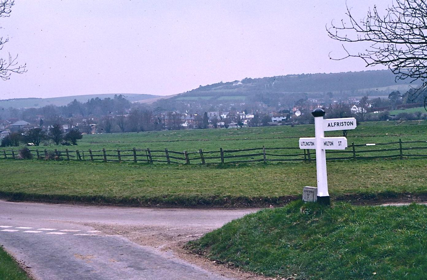 Heading for Alfriston – the second time.  I used a version of this photo as an illustration in A Walker's Alphabet.
